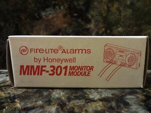 Brand New Fire lite Mmf 301 Intelligent Monitor Module Free Shipping