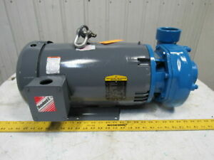 Gould 3656 2 1 2 x3 7 Centrifugal Pump 15 Hp 208 230 460v 3480 Rpm