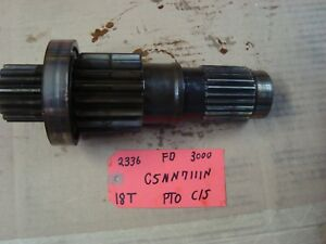 Ford 3000 Tractor Used Trans Pto Countershaft 18t Ref C5nn7111n