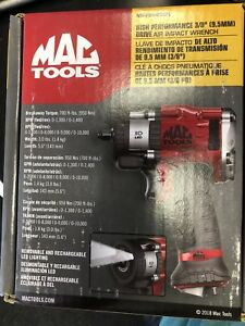 Mac Tools Brand New 3 8 Air Impact With Led Lights 700 Ft Lbs Break Away Torque