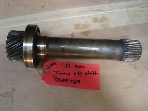 Ford 3000 Tractor Used Trans Pto Input Shaft Ref C5nn772a