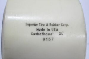 Lot Of 2 Superior Tire Rubber Corp Cushothane Xl Load Wheel 9157