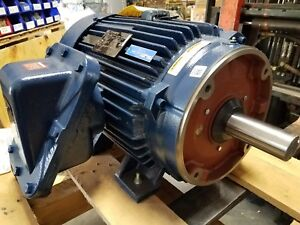 New Marathon 40 Hp 3 Phase Motor With Space Heater Nd 324ttgp18540aal