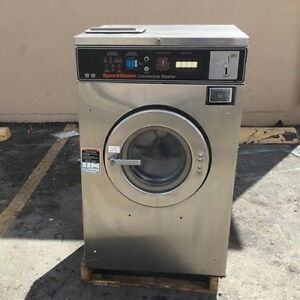 Speed Queen Washer 18lb 3ph Laundromat Coin Commercial Laundry Huebsch dexter