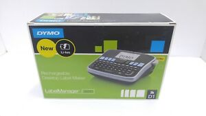Dymo Labelmanager 360d Rechargeable Desktop Label Maker 1754488 Sealed In Box