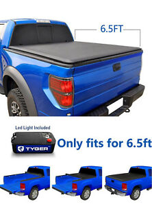 Premium Roll Up Tonneau Cover For 2014 2018 Silverado Sierra 6 5ft Bed