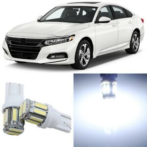 16 X Super Bright White Interior Led Lights Package For 2013 2019 Honda Accord