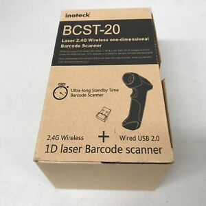 Inateck Bcst 20 Wireless Wifi usb Barcode Scanner