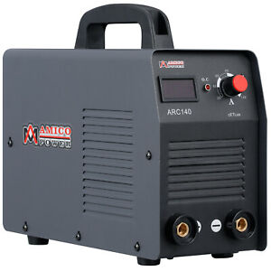 Arc 140 140 Amp Arc Stick Dc Inverter Welder Digital Display Lcd Welding New