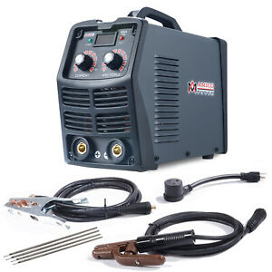 S160dr 160 Amp Stick Arc Dc Inverter Welder 110v 230v Dual Voltage Welding