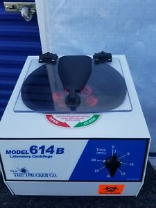 The Drucker Model 614 Centrifuge 614b
