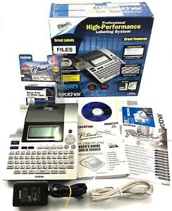 Brother P touch Pt 2700 Electronic Professional Labeling System With Tape Refill
