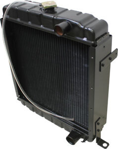 A171080 Radiator For Case 480e 480ell 480f 480fll 580se 584e Industrial Tractors