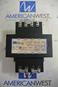Acme Control Transformer Ta 83219 750 Va 240 480 To 120 240 Used