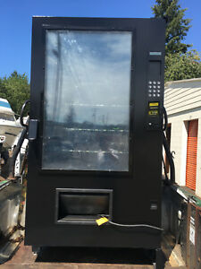 Ams Outsider Snack Vending Machine New Paint Refurbished Combo Mdb Car Wash