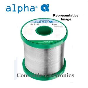 Alpha Metals No clean Solder Smt plus Sn62 Pb36 Ag2 020 2 Special