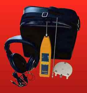 Electronic Leak Detector Water Air Gas W Exclusive Surface Microphone