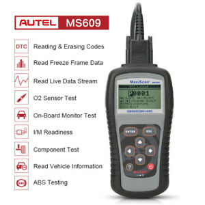 Us Autel Ms609 Obd Obd2 Auto Diagnostic Scanner Engine Scan Tool Abs For Gm Ford