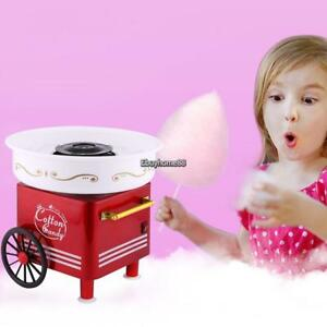 Cotton Candy Maker Electric Commercial Vintage Machine Kit Store Booth Kid Party