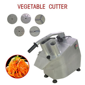 Top 110v 550w Commercial Food Processor Vegetable Cutter Vegetable fruit Slicer