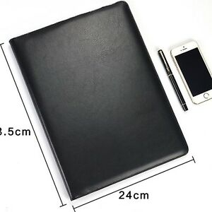 Business Notebook With Functional Money Office Organizer Notepad Bill Cases