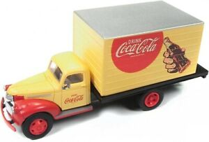 '41/'46 Chevy Coca Cola Box Truck HO - Classic Metal Works #30509