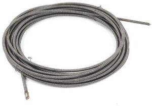 Ridgid Drain Cleaning Cable Plumbing Snake Solid Core Flexible 1 2 In X 75 Ft