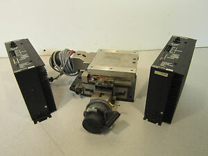 Parker Daedel 4x4 Motorized Xy Stage W Compumotor S6 Controller 87 011279 01 e