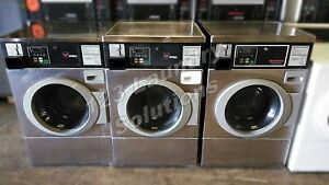 Stainless Steel Ipso Horizon Front Load Washer 120v 60hz 9 8amp Bfnbefsp111tn01
