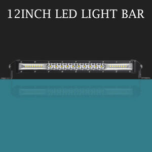 Osram 12inch Led Light Bar Spot Flood Combo Off Road Truck Boat Jeep Ford Suv