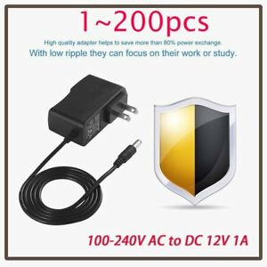 200 12v 1a 12w Ac To Dc Adapter Power Supply For Flexible Led Light Strip 3528 Y