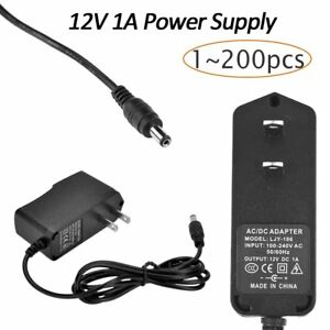 12v 1a 12w Ac To Dc Adapter Power Supply For Flexible Led Light Strip 3528 Lot Y
