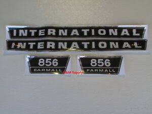 Ih International Farmall Tractor 856 Decal Set