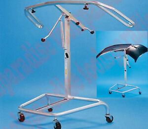 Rotating Auto Body Bumper Holder Hanging Stand Rolling Painting Rack Tree
