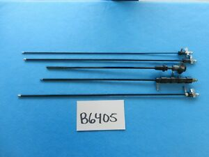 R Wolf Stryker Surgical Laparoscopic Monopolar Suction Instruments Lot Of 5