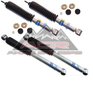 Bilstein Front rear 5100 Series Shocks For 2005 2016 Ford F 250 350 W 4 Lift
