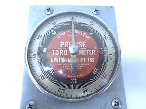 Snap on Totpr 216 Torqomatic Meter 3 8 250ft lbs Used Free Shipping