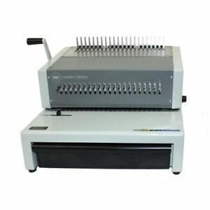 New Gbc Combbind C800pro Electric Plastic Comb Binding Machine Free Shipping