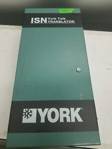 York Isn York Talk Chiller Processor Assembly W Keys And Cable