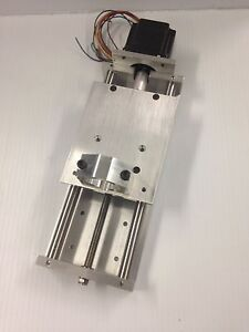 Cnc Z Axis Slide 6 7 Travel Plasma Oxy Motor Included Torch Holder Included