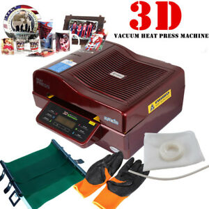 3d Sublimation Vacuum Heat Press Printer Transfer For Phone Case Plates Mugs Ob