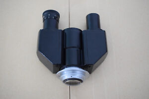1 X Binocular Head For Microscope Ior Bucharest zeiss Subcontr Amplival As Is