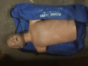 Simulaids Adam Cpr Training Manikin School Half Body Health Life Saving Prepare