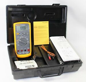 Fluke 88v Automotive Multimeter In Hard Case