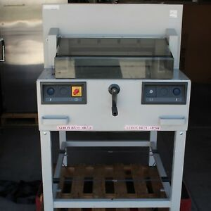 Triumph Ideal 4810 95 Industrial Electric Semi automatic Power Paper Cutter
