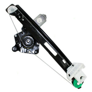 00 07 Ford Focus Passengers Rear Power Window Lift Regulator With Motor Assembly