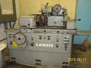 Landis 10 1r Universal Cylindrical Grinder W Swing Down Id Grinding Head