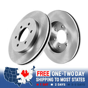 Front Premium Oe Plated Brake Rotors Fits 2006 2009 Nissan Patrol
