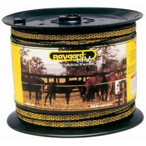 Categories Electric Fence Yellow black Tape 656 Feet 00129