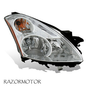 2010 2012 Right Replacement Halogen Headlight For Nissan Altima 4dr Sedan W Bulb